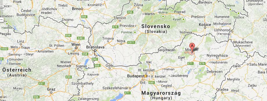 map_miskolc